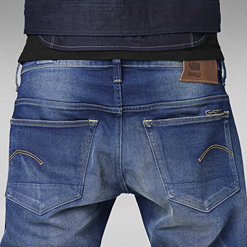 G-STAR, Men Jeans 3301 Low Tapered Medium Aged, Größe 28/32