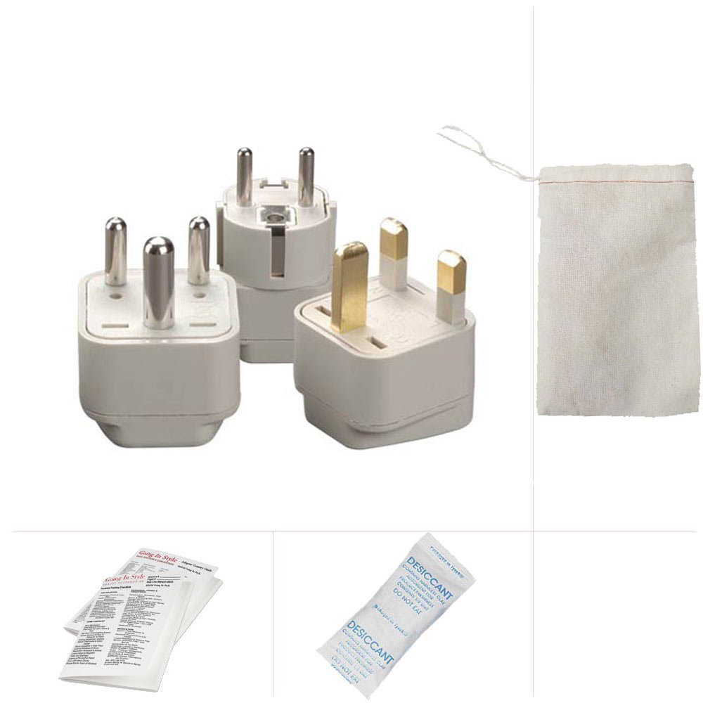Going In Style Singapore Adapter Plug Kit - GUB, GUD and GUF