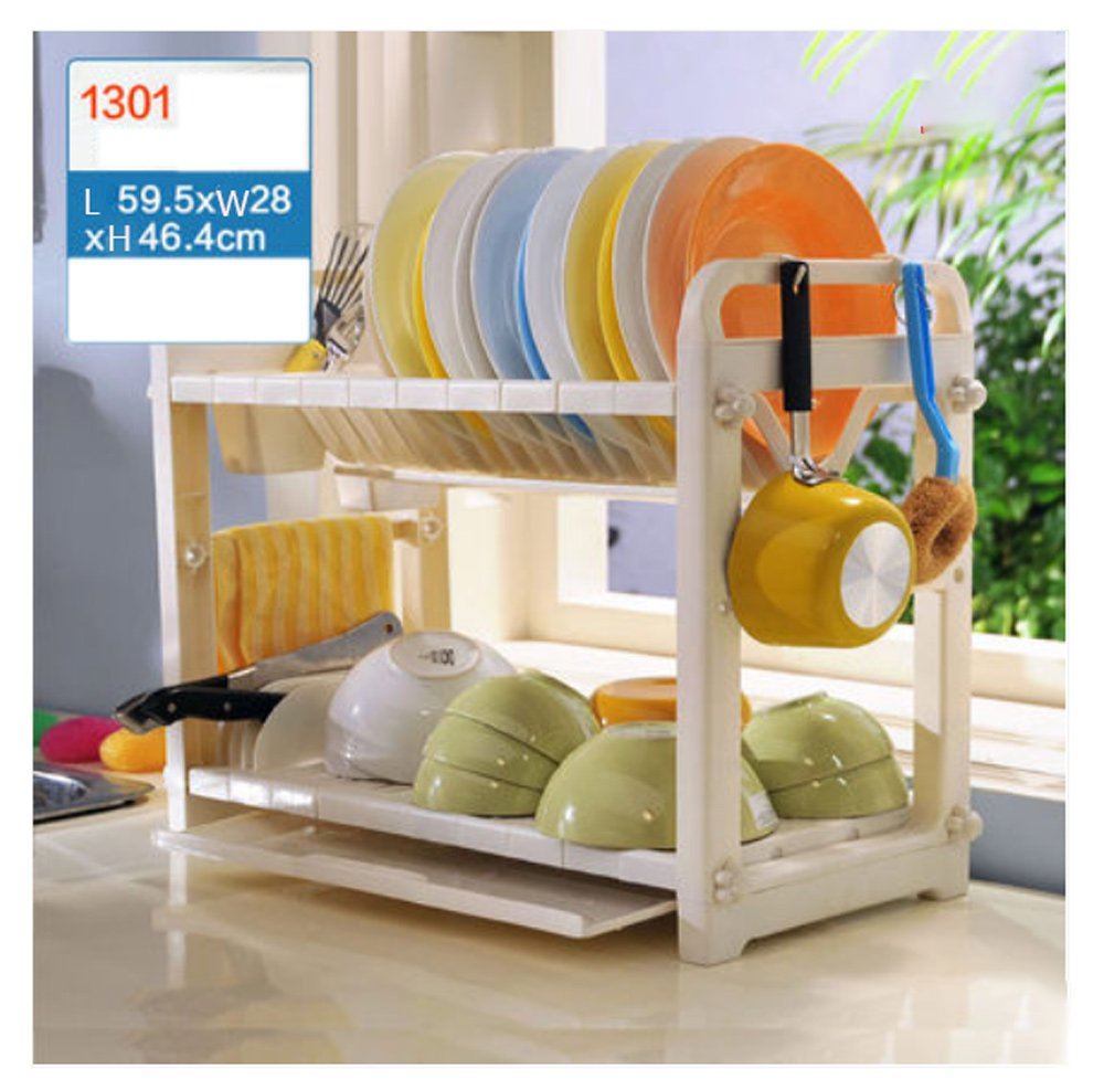 Hyun times Put Bowl Shelf Shelves Kitchen Utensils Bowl Shelf Storage Finishing Rack Pot Storage Cabinets Supplies