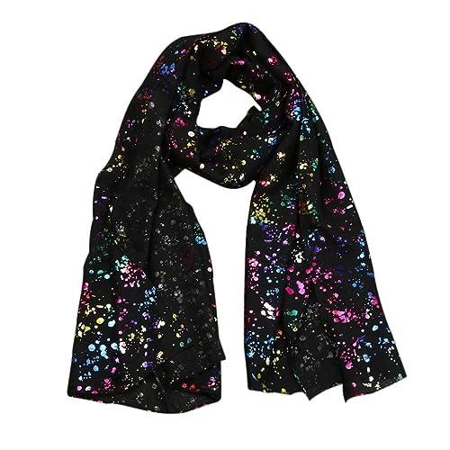 Inverno Long Wrap Scialle,Kword Donne Pashmina Cotone Stola Sciarpe Sciarpe Con Stampa A Colori Dot