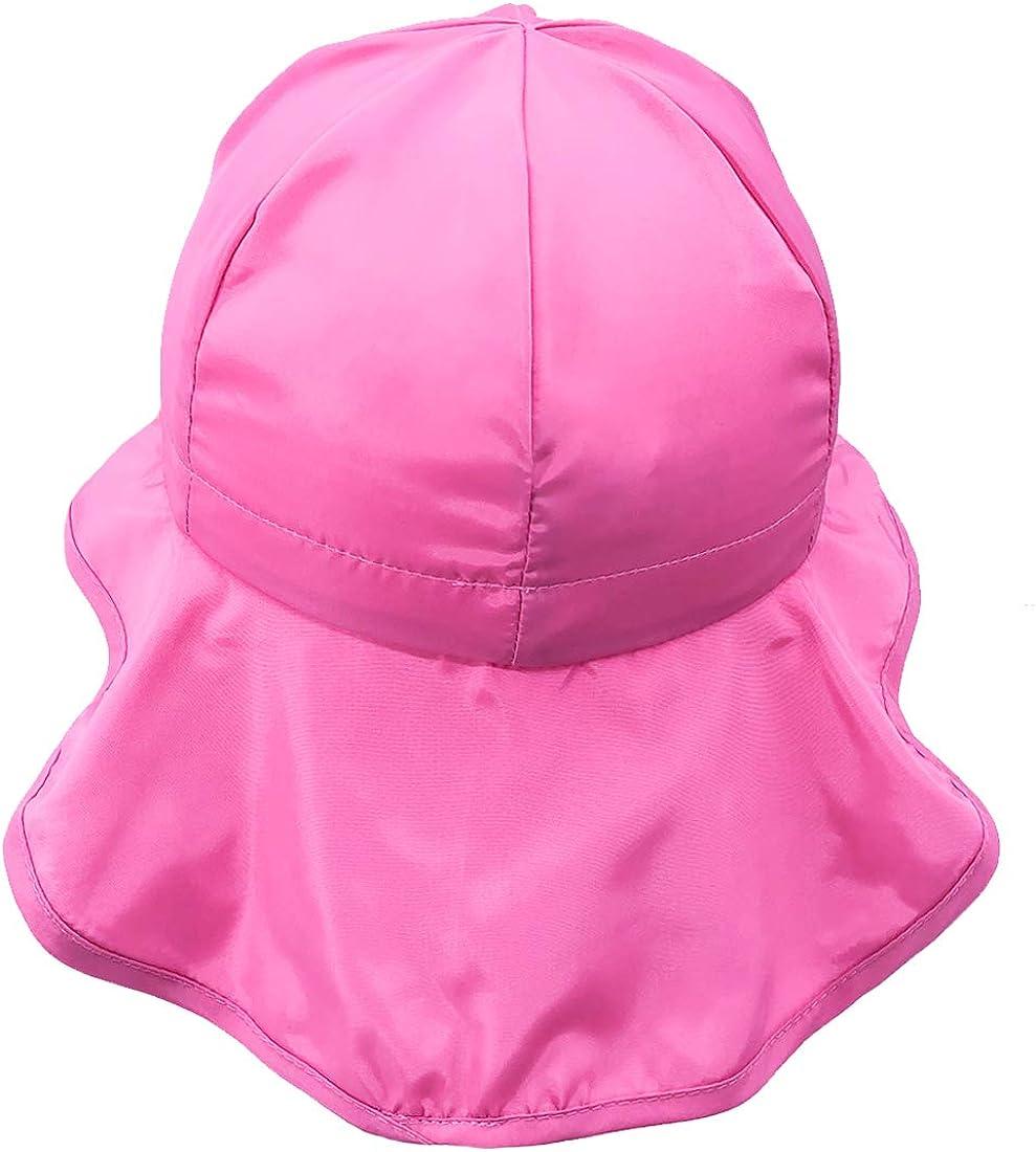 Boys Girls UPF 50 Beach Hat Legionnaire Style UV Sun Protection Summer Hat for Kids Flap Caps Outdoor