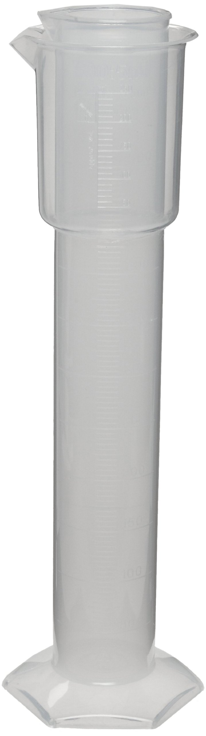 Dynalon 141805 Translucent Polypropylene 500mL Hydrometer Jar
