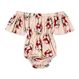 Anbaby Baby Girls Cute Romper Bodysuit Clothes
