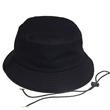 6904d1ac0dfb4 Amazon.com: Cherryi Big Size Bucket Hats Windproof String Hat Big ...