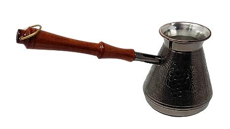 Madacha - Tarro de café (Cobre estañado, 450 ml, Apta para Todo ...