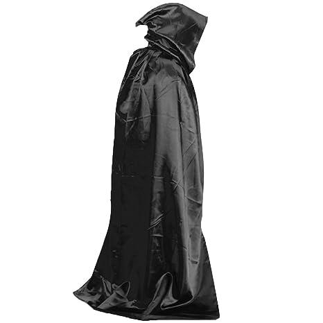 Morte Diavolo Wicca Robe Vampiro Dracula Hoody Mantello Lungo Tippet Cape per  Halloween Costume Teatro Ruolo. Scorri sopra l immagine per ingrandirla c93af1ec77d5