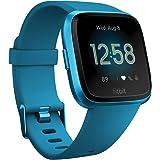 Fitbit Versa Lite スマートウォッチ Marina Blue L/Sサイズ  [日本正規品] FB415BUBU-FRCJK
