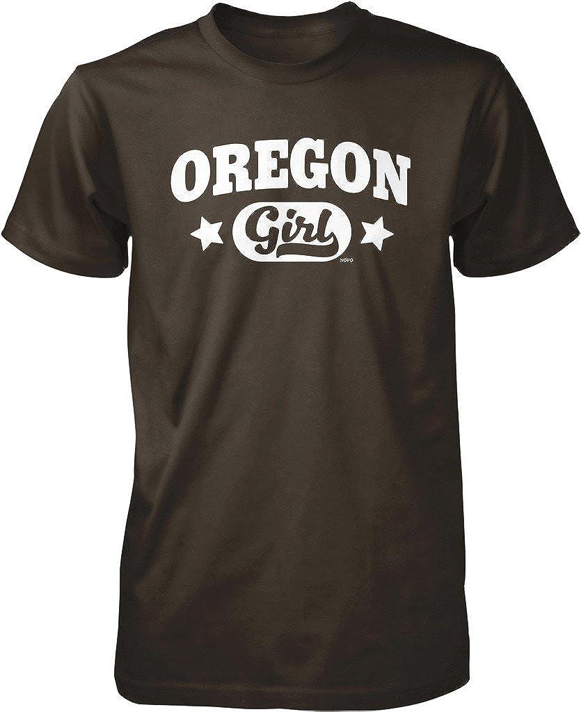 Tenacitee Girls Living in Oregon with Michigan Roots Hooded Sweatshirt