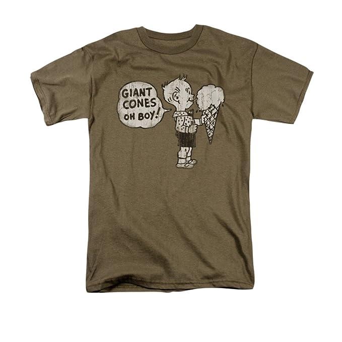 Trevco Conos gigantes camiseta retro para hombre: Amazon.es: Ropa y accesorios