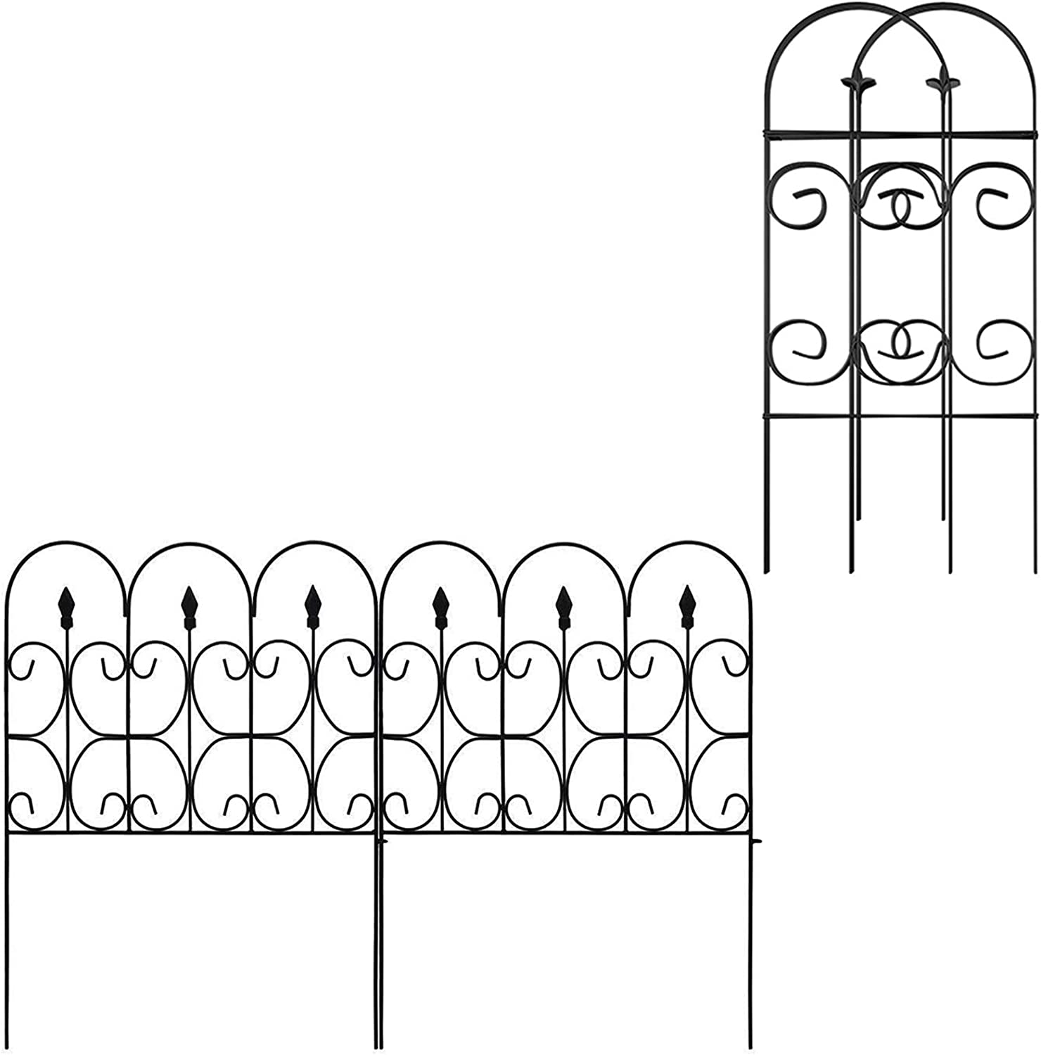 Amagabeli Garden Fence 32inx10ft Bundle Garden Fence 32inx10ft