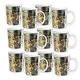 Realtree AP Camo Melamine Mug - 12oz, Set of 12