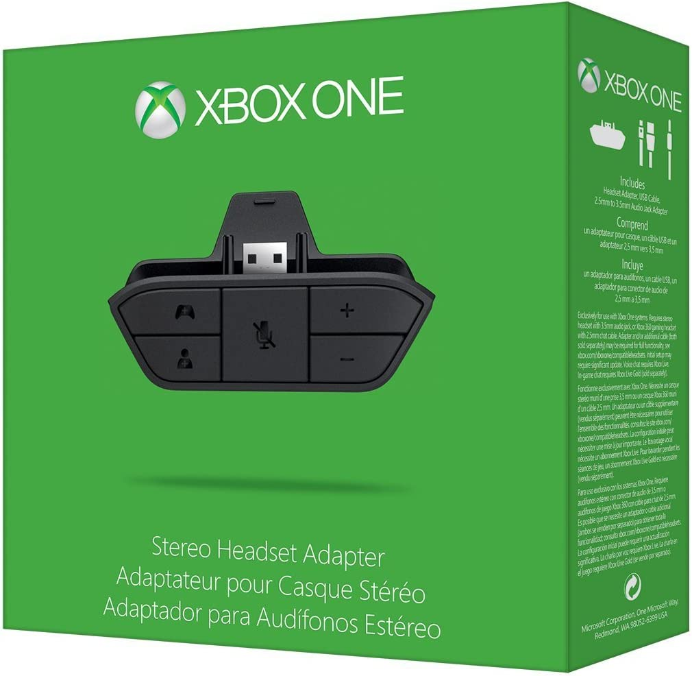 Amazon.com: Xbox One Stereo Headset Adapter: Video Games