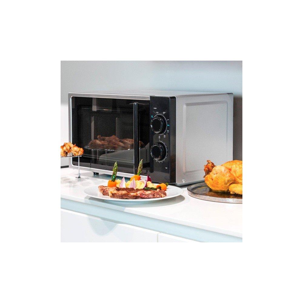 Microondas con Grill Silver 1363: Amazon.es