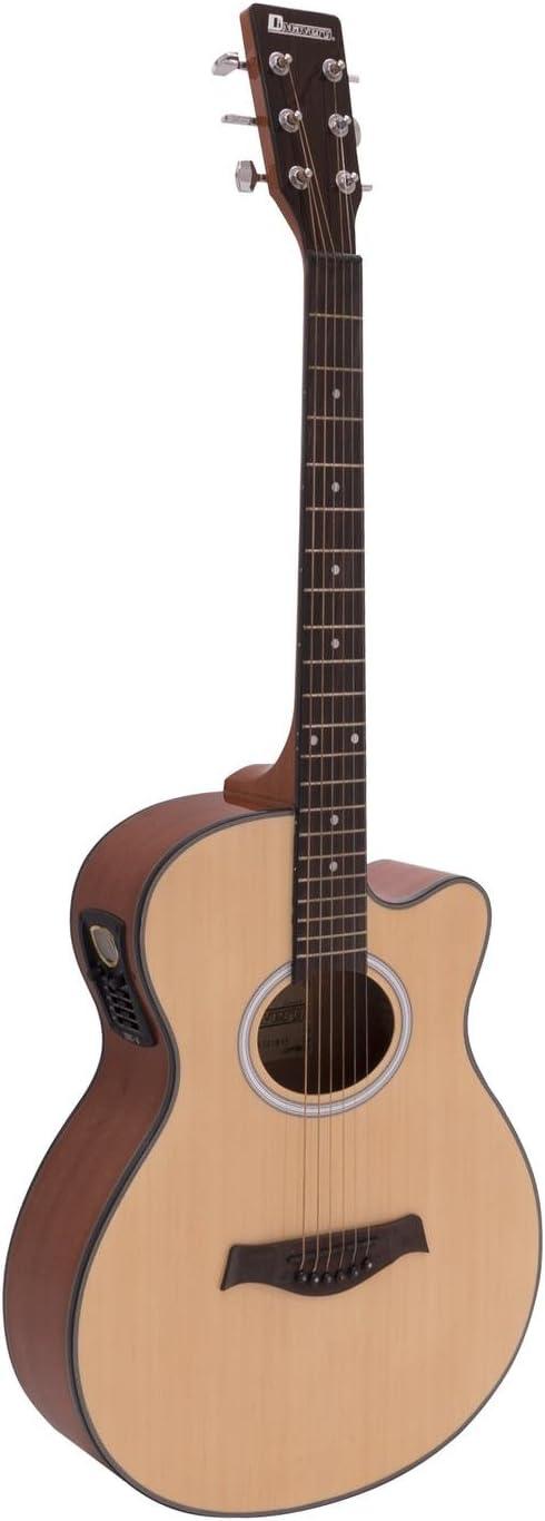 Guitarra Western BRUCE con pickup, color natural - Guitarra ...