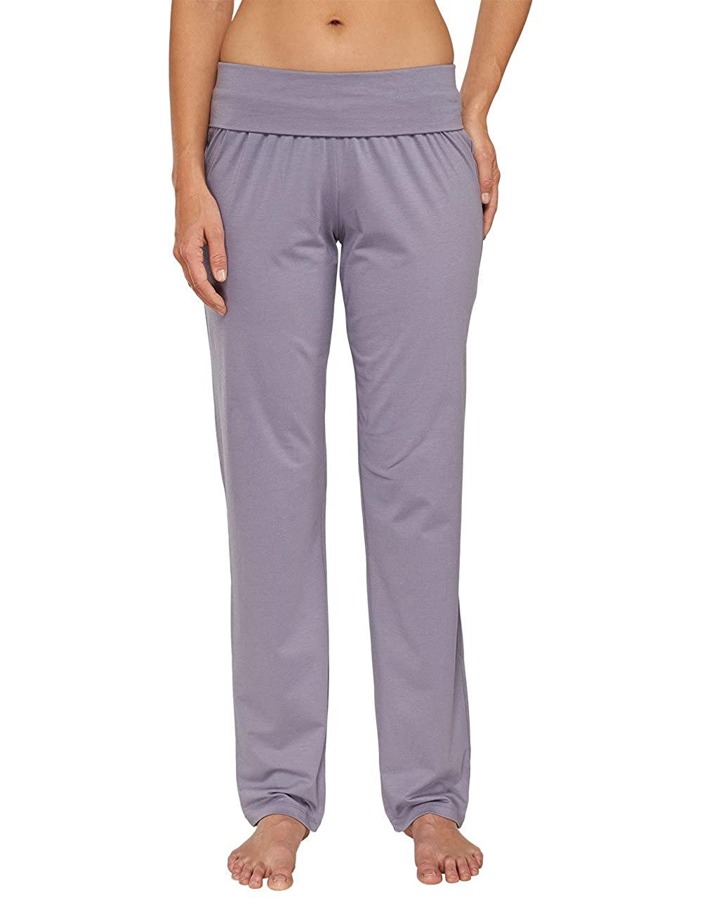 TALLA 42. Schiesser Mix & Relax Jersey Hose Lang - Parte Inferior del Pijama Mujer