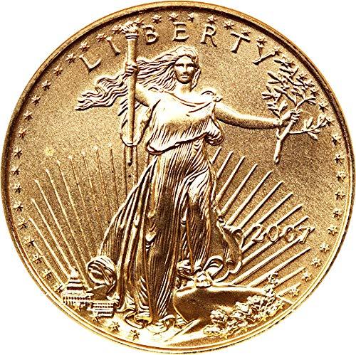 2007 P $25 Gold Eagles Gold Eagle Twenty Five Dollar MS70 NGC