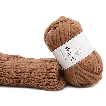 Girasool Grobe Wolle DIY Soft KnittingThreads, Schals