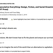 Amazon Com Speculative Everything Design Fiction And Social Dreaming The Mit Press 8601404349980 Dunne Anthony Raby Fiona Books