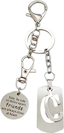 AM Landen Super Cute Letter H Key chain Best Gift Keychain to Your Love