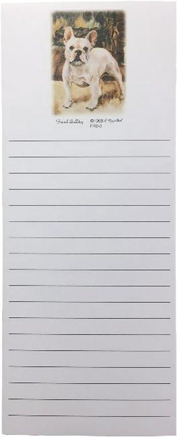 French Bulldog Magnetic Refrigerator List Pad