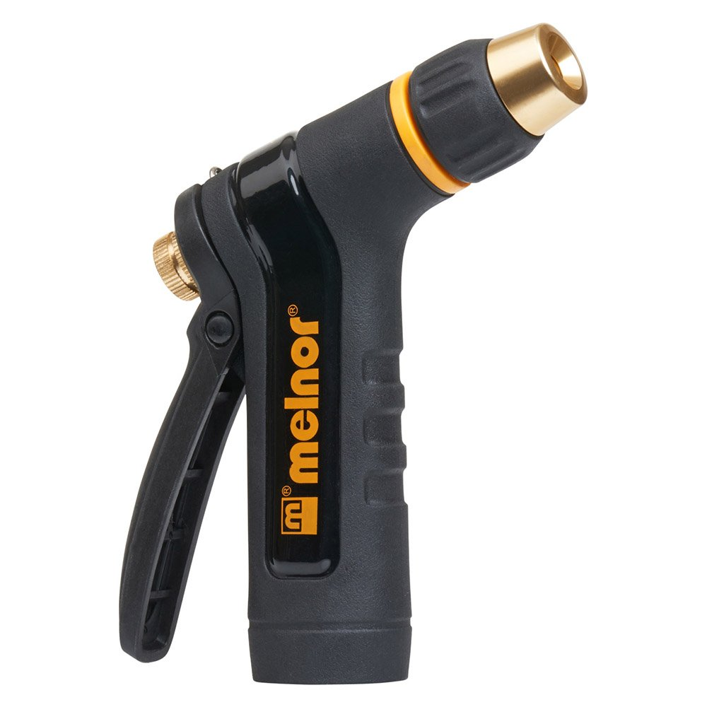 Melnor XT200; Heavy-Duty Metal Hose Nozzle with Rear Trigger; Adjustable Spray Nozzle Tip; 1 Pack product image