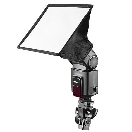 Color Negro Soporte met/álico para Flash y Paraguas Walimex 17040