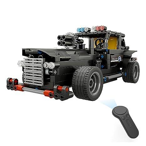 Build Rc Car >> Amazon Com Goolsky Bb13007 462pcs Diy Command Vehicle 2 4g