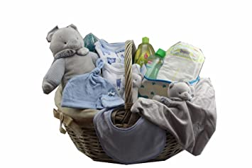 DonRegaloWeb - Cesta - Canastilla de regalo de bebé recién nacido ...