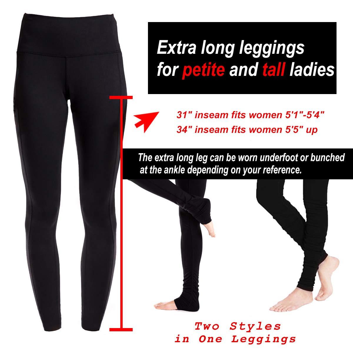 2d04a6ba54c6a1 Amazon.com: Yogipace Petite/Tall Women's 31