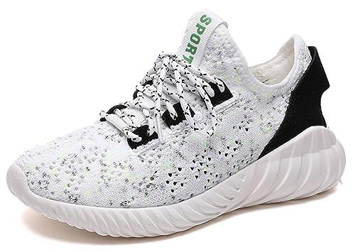 Zapatillas, Deportivas de Malla Ligeras para Mujer - Zapatillas Transpirables Negras 40: Amazon.es: Zapatos y complementos