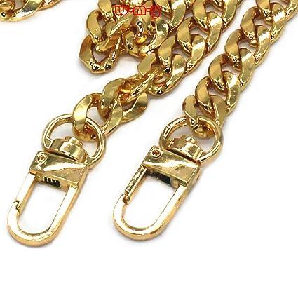 df7a048d88 M-W 47 quot  DIY Iron Flat Chain Strap Handbag Chains Accessories Purse  Straps Shoulder Cross Body