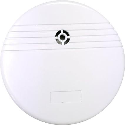Garza Power - Detector de Inundación con Alarma de 85dB, Pila Incluída, color Blanco