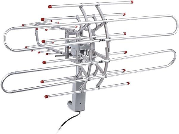 COOCHEER al aire libre WiFi Antena amplificada para Smart TV ...