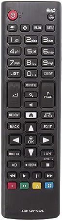 AKB74915324 - Mando a Distancia para LG Smart TV con Mando a Distancia para LG LCD TV LED 32LH604V 40UH630V 43UH610V 49UH668V 55UH605V 50UH635V 65UH625V: Amazon.es: Electrónica