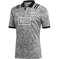 Yujings Ventilador de Rugby Camisetas de Manga Todo Negro Rugby Jersey Short Rugby Hombres del Jersey Swag del Deporte del fútbol Americano t Tops para la Ejecución de la Aptitud