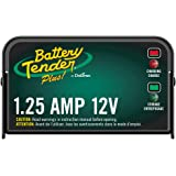 Battery Tender Plus Charger and Maintainer: 12V, 1.25 Amp Powersport Battery Charger and Maintainer for Motorcycles…