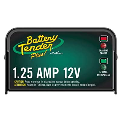 Battery Tender Plus Charger and Maintainer: 12V