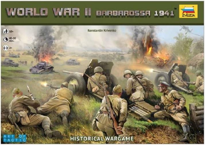 Zvezda Wargame Barbarossa 1941 1:72 - Kit Modelo Z6134: Amazon.es: Juguetes y juegos