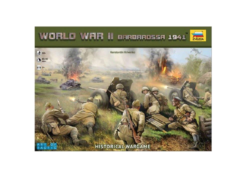Zvezda Models World War II Barbarossa 1941