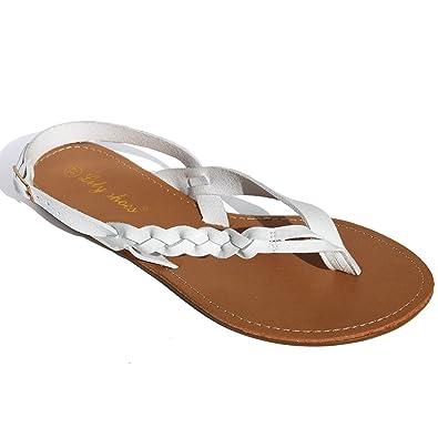 Lily Shoes Tongs Claquettes Femme ArgentéEs 73mqiVIT