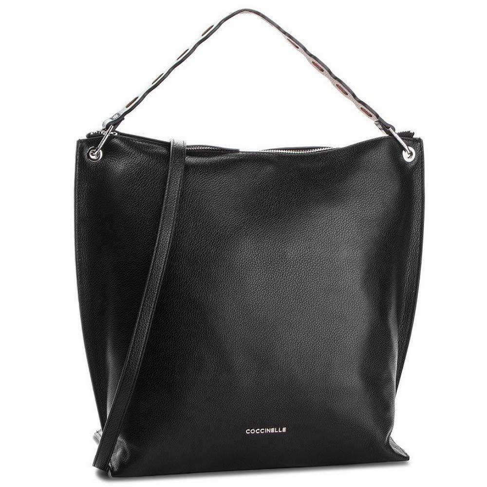 b04210bdffabe Coccinelle Tasche NAIVE Damen Schwarz mulled - E1CL5130101317  Amazon.de   Bekleidung