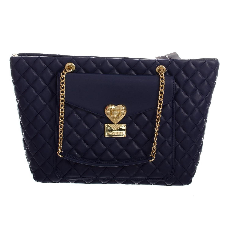 Love Moschino Borsa Nappa Trapuntata damen, accessori: borsa a mano, blau