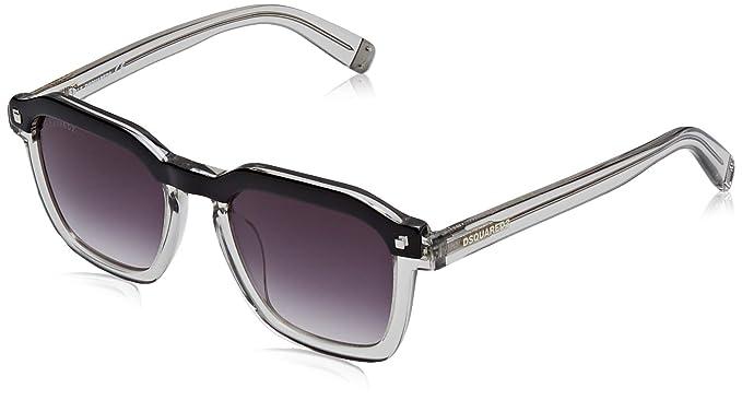 DSQUARED2 Clay Gafas de sol, Gris (Grey/Other/Gradient Smoke ...