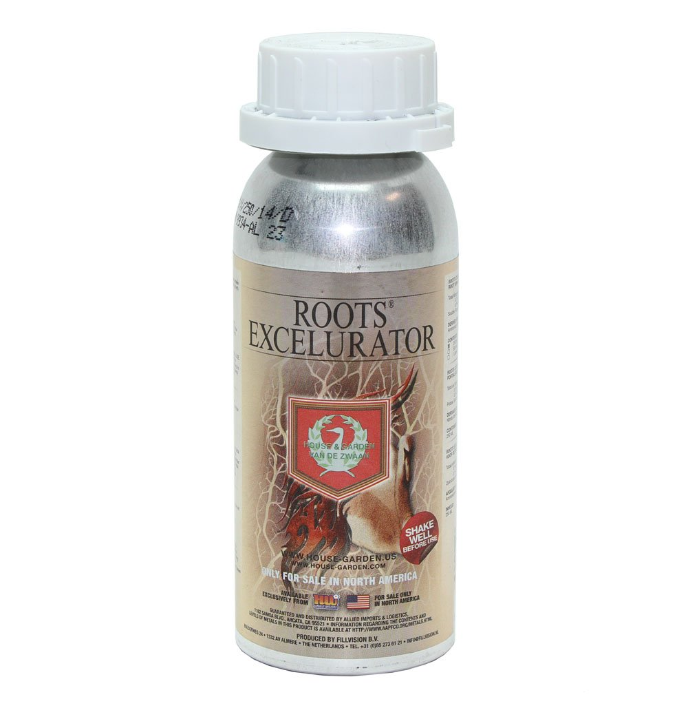 House and Garden Roots Excelurator Silver 250 Mil - Organic Gardening Root Stimulator Plant Starter Solution