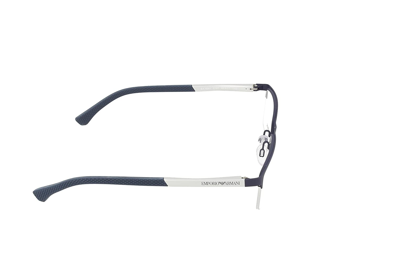 90b2af19a395 Armani EA1041 Eyeglass Frames 3131-55 - Blue Rubber at Amazon Men s  Clothing store