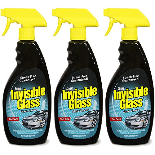 Invisible Glass 92164-3PK Premium Glass Cleaner 22-Ounce Bot