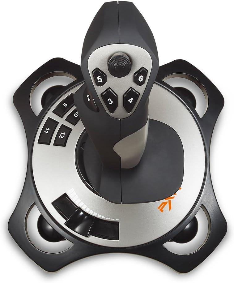 TNP USB Flightstick PC Joystick Controller Simulator Gamepad