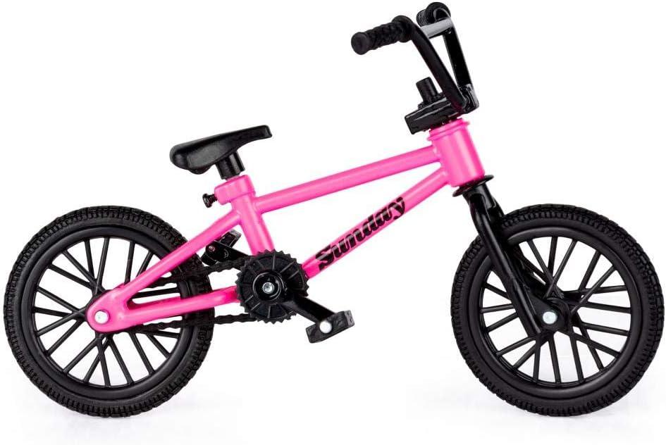 Amazon Com Tech Deck Bmx Finger Bike Series 12 Sunday Pink Tech Deck Bike With Moveable Tech Deck Parts Toys Games