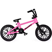 Tech Deck BMX Finger Bike Series 12, Sunday Pink Tech Deck Bike with Moveable Tech Deck Parts