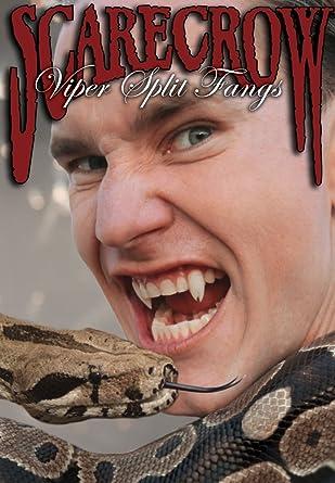 Viper Split Vampire Fangs Mens Ladies Halloween Vampire Teeth Accessory